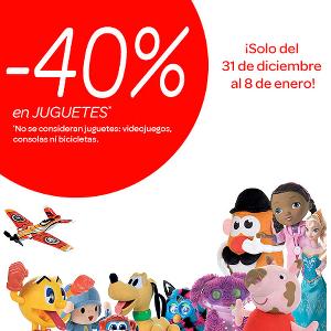 cepillo Ahuyentar Volverse loco  40% de descuento en juguetes de Carrefour