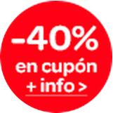 Cupón 40% descuento Juguetes Carrefour