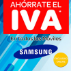 Móviles Samsung sin iva en Carrefour