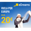 Vuelos locos por 20€ eDreams