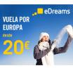 Vuelos locos por 20€ eDreams