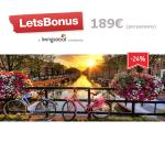 Vacaciones Vuelo Europa + Hotel**** 3 noches189€ en LetsBonus