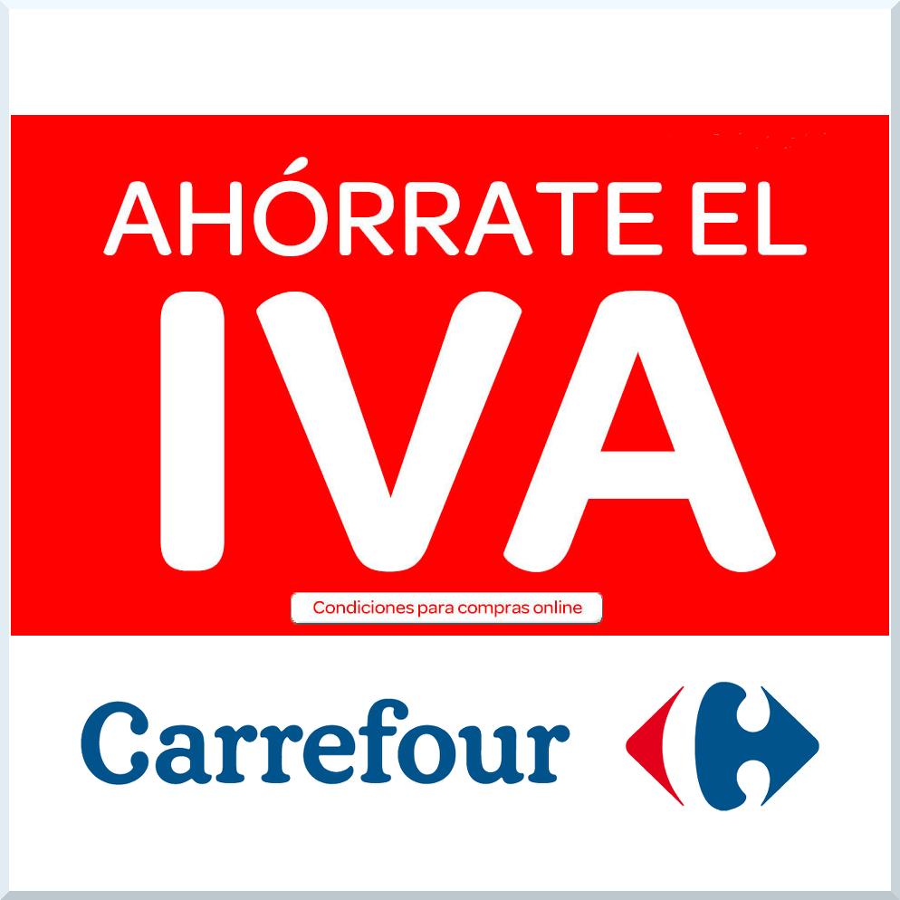 6213Ahórrate el IVA en Carrefour