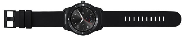 "LG G Watch R - Smartwatch Android (pantalla 1.3"", 4 GB, 1.2 GHz, 512 MB RAM, batería 410 MAH), negro"