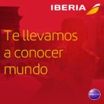 Happy Days de Iberia con Descuentos en tus vuelos nacionales, a Europa, Sudamérica o EEUU