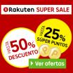 Super Sale en Rakuten con ofertas increíbles