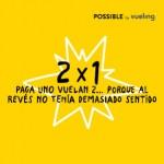 2x1 en Vuelos de Vueling para este mes de junio