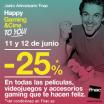 25% de descuento en Peliculas, Videojuegos y Gaming en Fnac hasta el 12 de junio