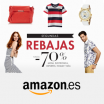 70% en las Segundas Rebajas de Moda en Amazon