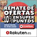 Remate Final de Ofertas de Rakuten con 10% de tu pedido en SuperPuntos