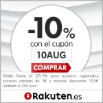 Código Descuento Rakuten del 10% en compras