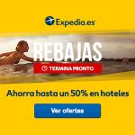 50% de descuento en Expedia con el cupón relámpago