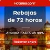 72 horas de rebajas en Hoteles.com con hasta el 50% de descuento en tu reserva de hotel