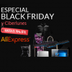 Descuentos para el Black Friday en Aliexpress