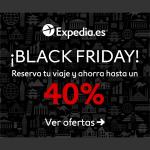 40% de descuento en tu hotel gracias al Black Friday de Expedia