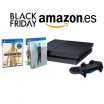 En Amazon, consola PlayStation 4 de 1TB + FIFA16 + Uncharted por 379€