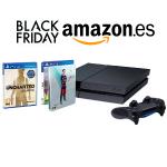 En Amazon, consola PlayStation 4 de 1TB + FIFA16 + Uncharted por 379€