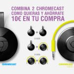 Ahorra 10€ al comprar dos Google Chromecast en PcComponentes
